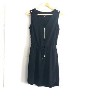 Dynamite Black dress with zip detail